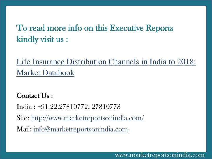 To read more info on this Executive Reports kindly visit us :