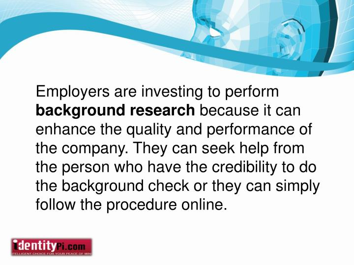 Employers are investing to perform