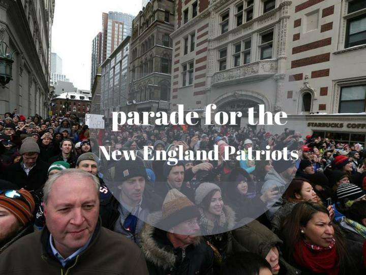 super bowl victory parade for the new england patriots n.