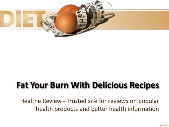 fat your burn with delicious recipes n.