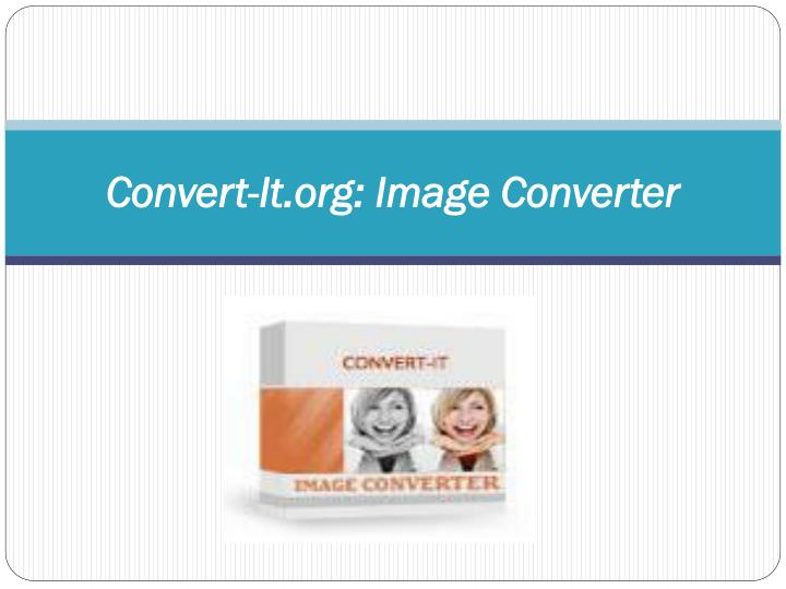 Convert-It.org: Image
