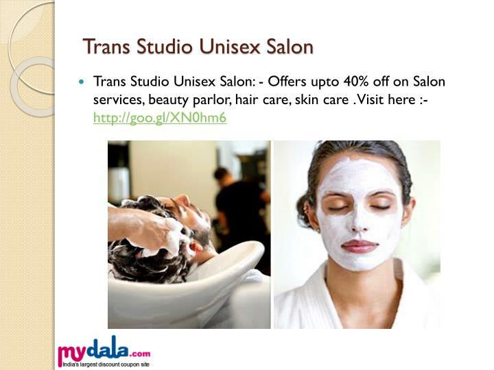 Trans studio deals