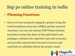 sap ps online training in india