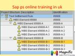 sap ps online training in uk
