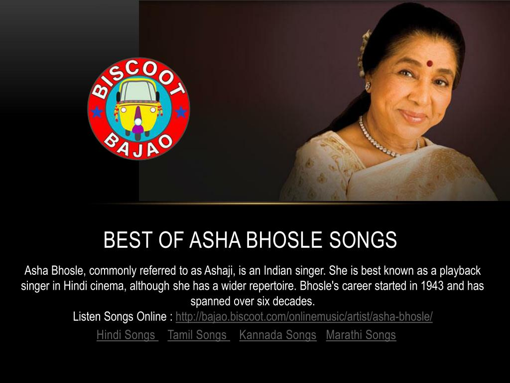 PPT - Asha-Bhosle-hit-songs-bajao-latest PowerPoint