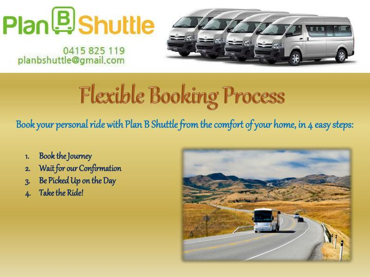 Flexible Booking Process
