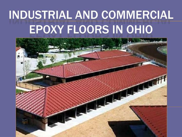 industrial and commercial epoxy floors in ohio n.