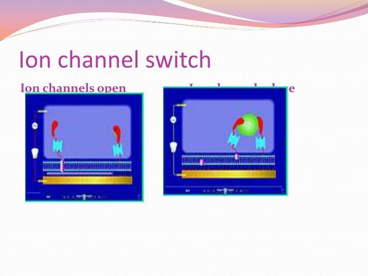 Ion channel switch