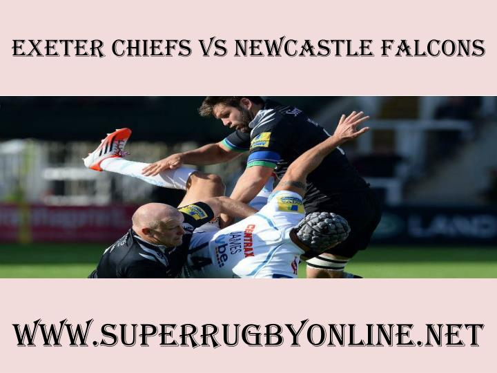 Exeter chiefs vs newcastle falcons