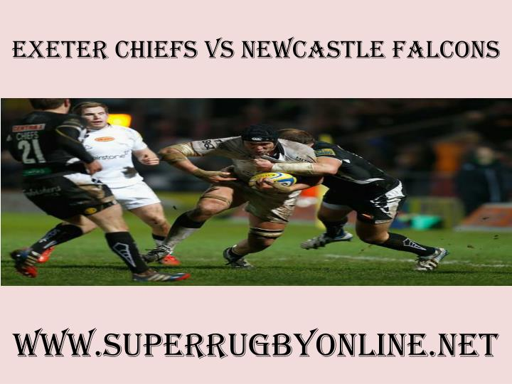 exeter chiefs vs newcastle falcons n.