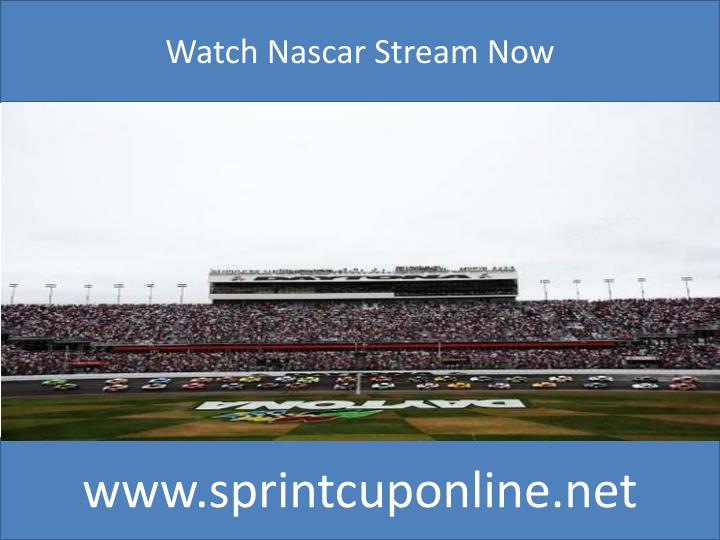 Watch Nascar Stream Now