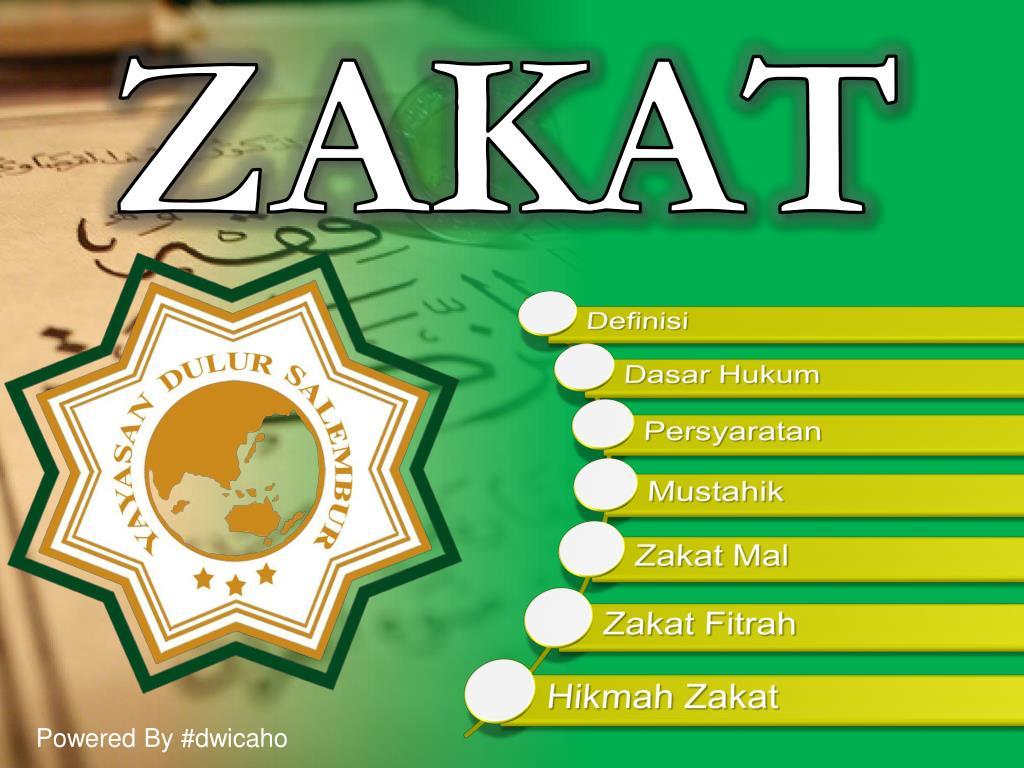 23+ Background Ppt Tentang Zakat