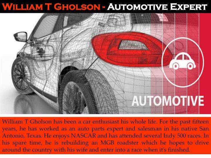 William T Gholson -