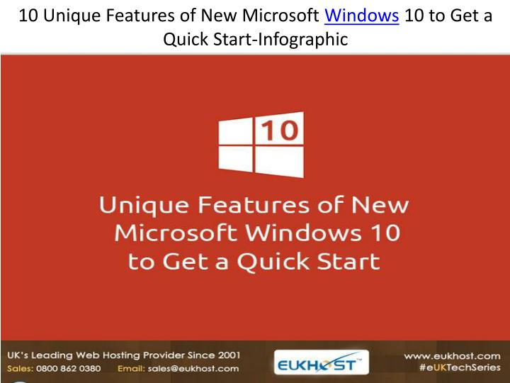 10 new and unique features of