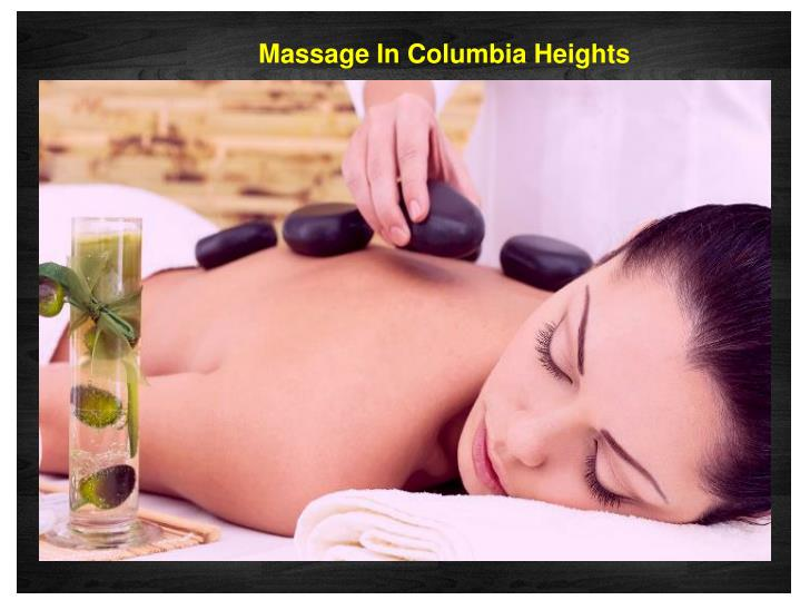 Massage In Columbia Heights