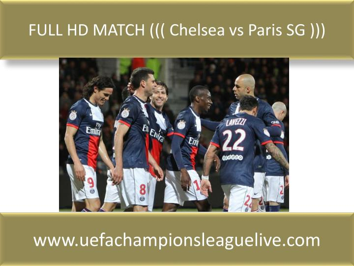 FULL HD MATCH ((( Chelsea