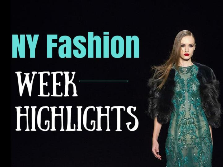 ny fashion week highlights n.