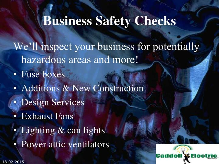 Business Safety